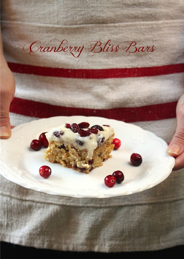 ... Cranberry Bliss Bars - My Sweet Savannah - search for Cranberry Bliss