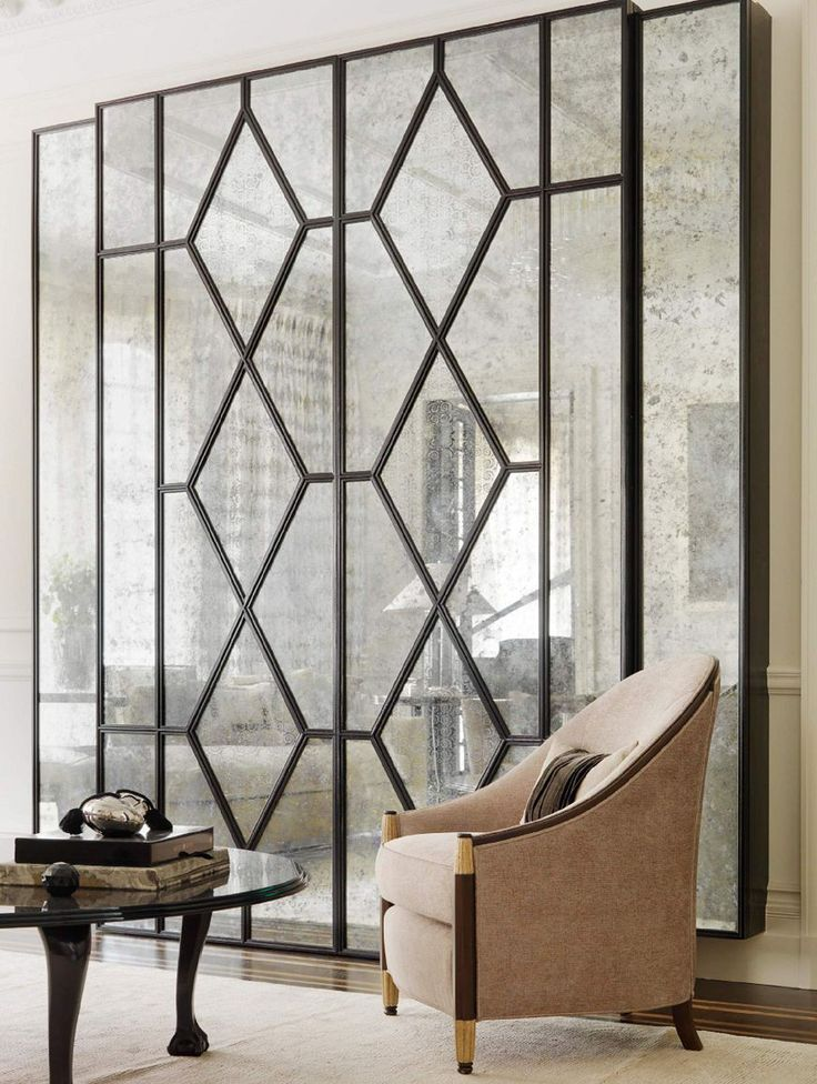Artistic design and style: gallery mirror by fiam