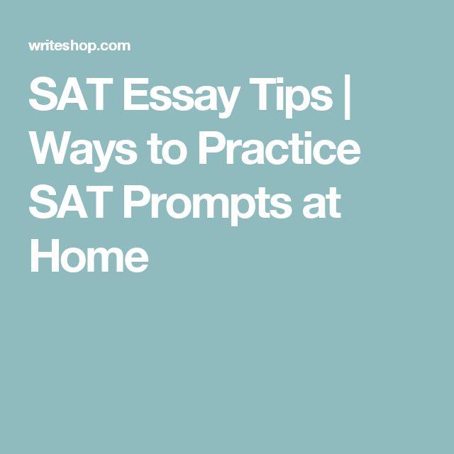 Write my sat essay tricks