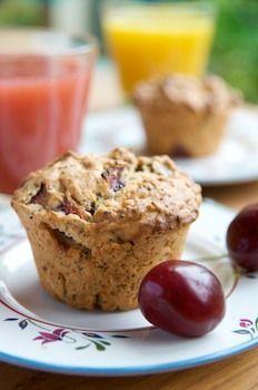 Fresh Cherry Poppy Seed Muffins   Recipes   Pinterest