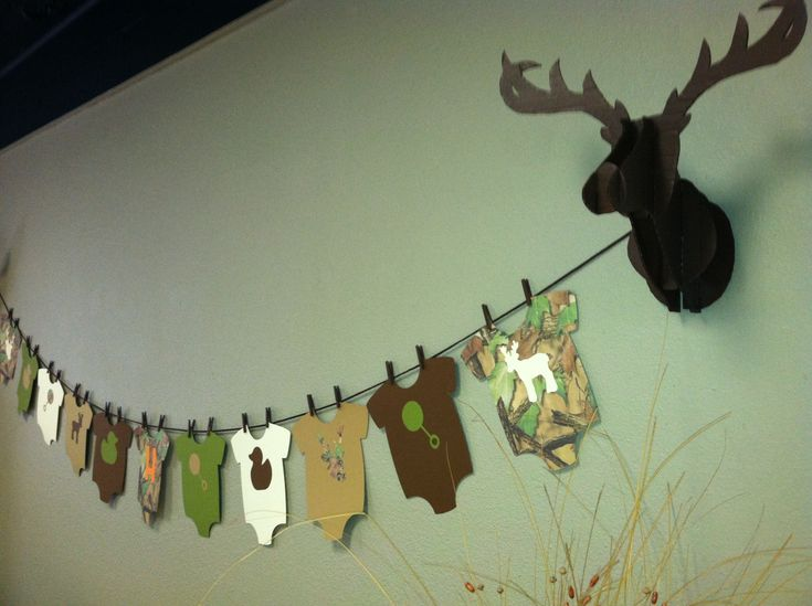 camouflage baby shower my parties pinterest