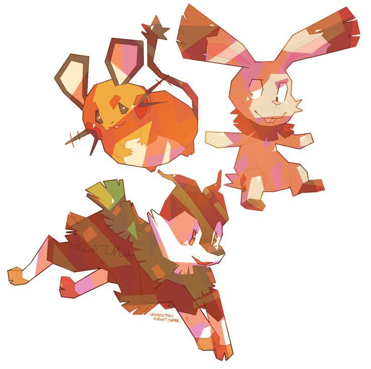 . Newly revealed Pokemon. Meekuru/Skiddo is Gogoat's pre-evolution ...