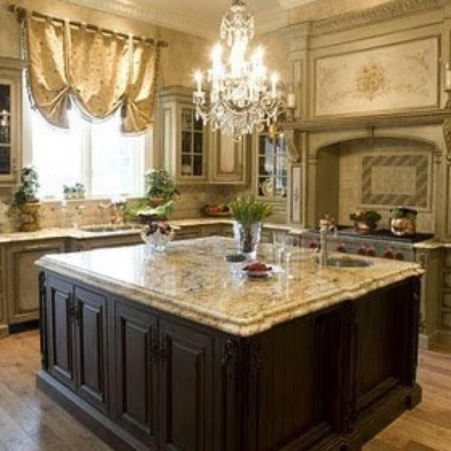 Romantic kitchen romantic decor pinterest for Romantic kitchen designs