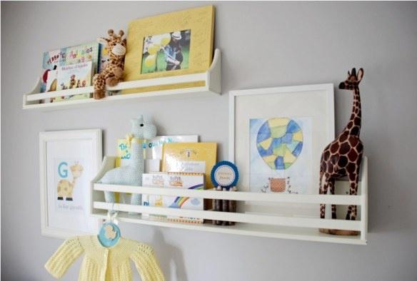 baby nursery (maybe with ikea shelves?)