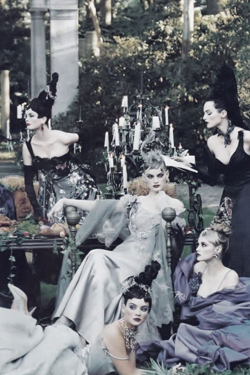 """A Feast For The Eyes"" by Steven Meisel 