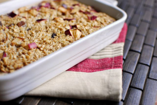 Baked Apple Cinnamon Oatmeal | Been There, Made That | Pinterest
