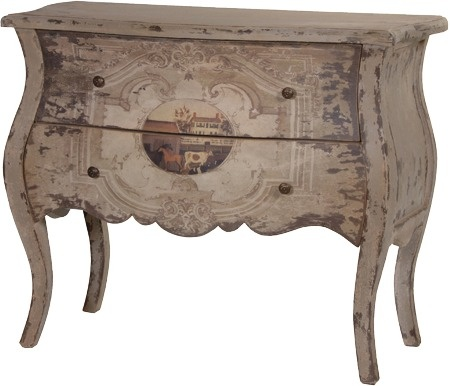 Antonia Painted French Chest from Alexander and Pearl