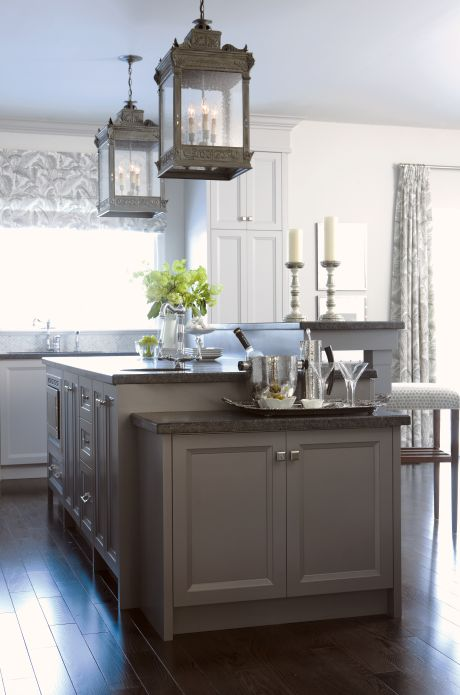 Counter Height Work Station : ... lower drink station and a counter-height prep area. Great idea
