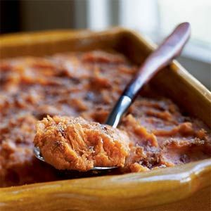 Bruleed Mashed Sweet Potatoes (Cooking Light) Borrowing from the ...