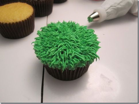 how to make green icing