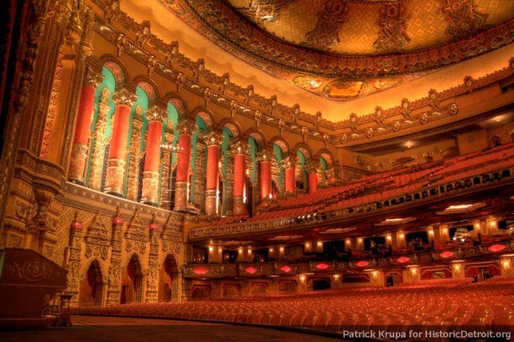 Fox Theatre - Photos — Historic Detroit | Talk to the Hand ...