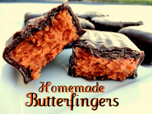 homemade butterfingers. I just found this. I hope I can still find ...
