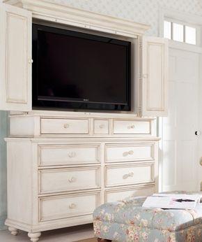 shabby chic entertainment center entertainment center. Black Bedroom Furniture Sets. Home Design Ideas
