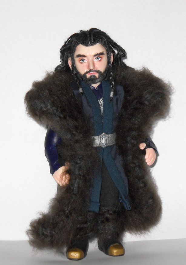Thorin Oakenshield Art Doll Richard Armitage by LilliamSlasher.deviantart.com on @deviantART