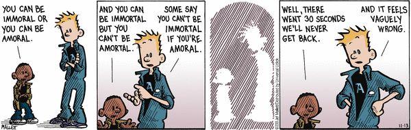 Frazz Comic Strip, November 13, 2013 on GoComics.com I've had conversations like this....