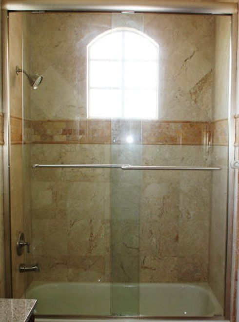 Bathtub shower door 1 jpg 490 215 660 pixels master bath pinterest