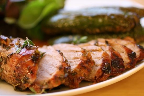 Gingerly Roast Pork with Thyme | Pork. The other white meat. | Pinte ...