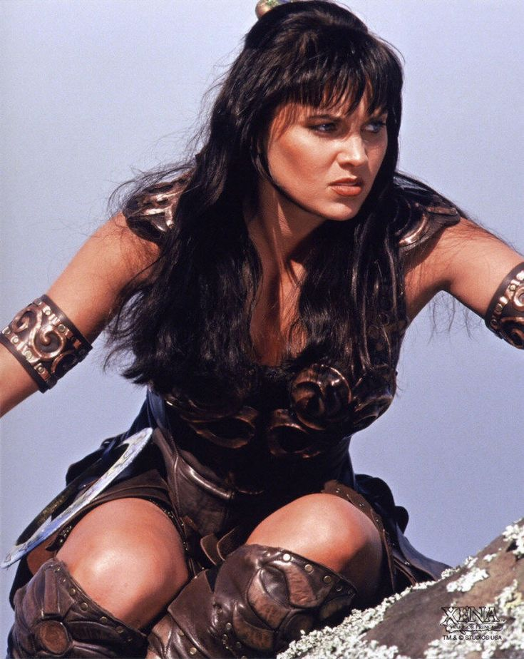 gabrielle Xena and ares warrior princess