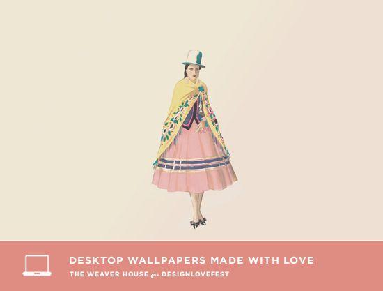 DRESS YOUR TECH / 10. DesignLoveFest | Desktop & Phone Wallpapers | P ...