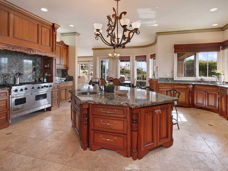 A Huge Kitchen For Baking In Kitchen Remodel Pinterest