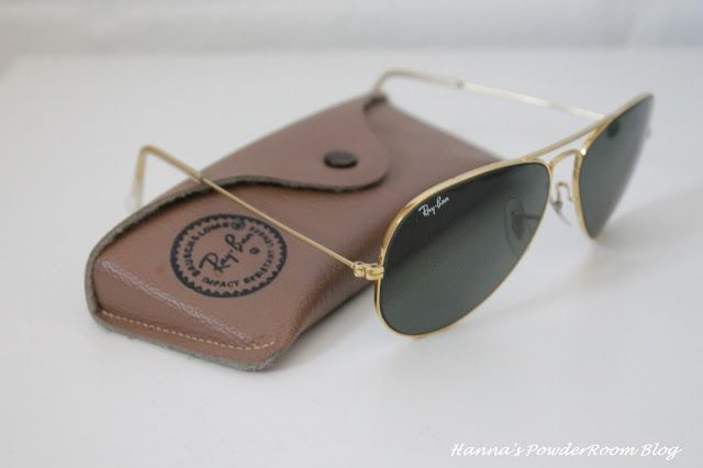 Rayban Aviators Hanna's PowderRoom Blog