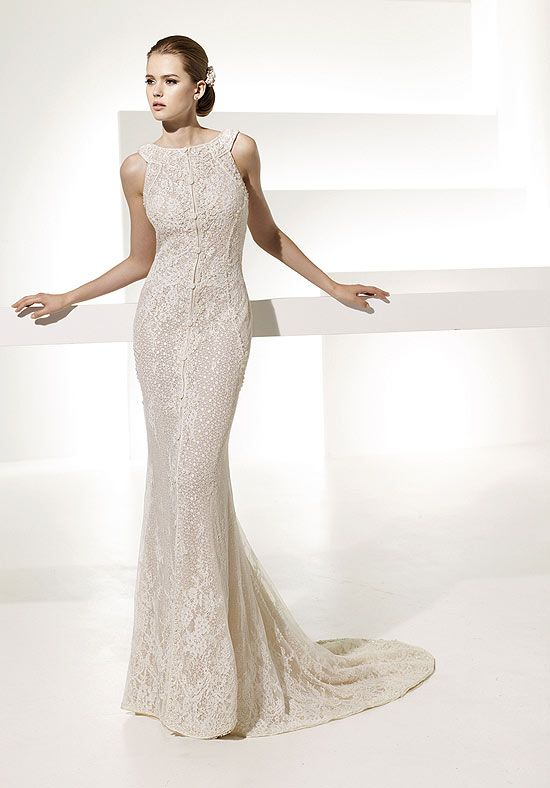 Egyptian Style Neckline Wedding Dress Ball And Chain Pinterest