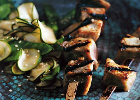 Miso-glazed tuna kebabs | Food/Recipes | Pinterest