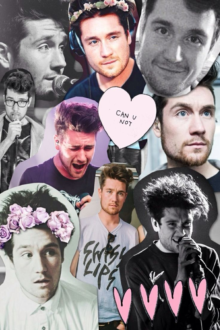 dan bastille collage