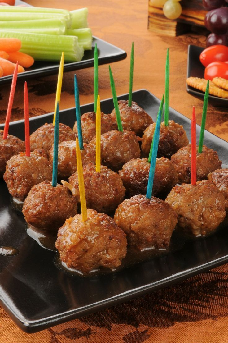 Cocktail Meatballs   Dips & Finger Foods   Pinterest