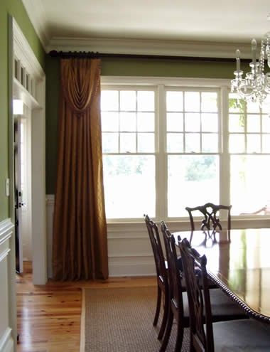 Dining Room Window Treatment For The Home Pinterest