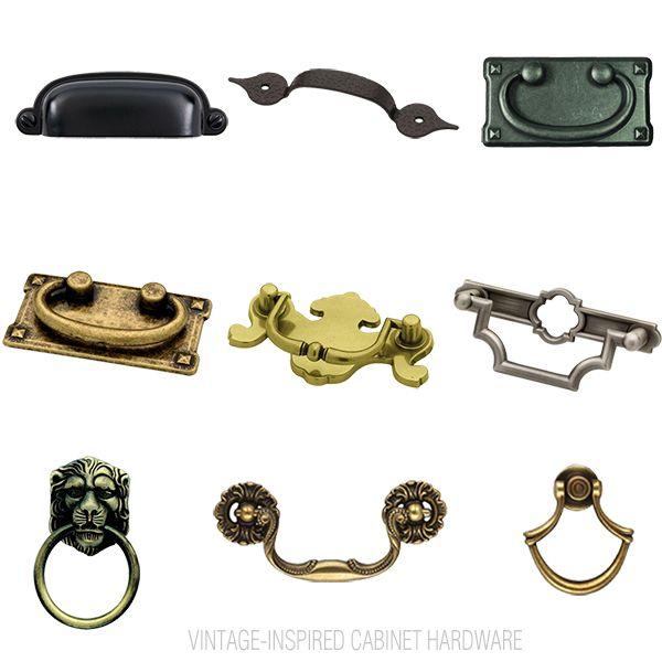 Vintage Inspired Cabinet Hardware Revitalizeandredesign Sponsored