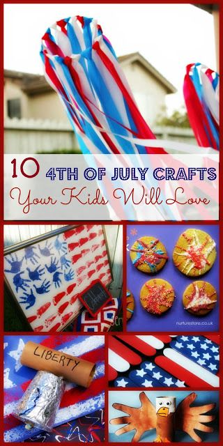 4th of july infant crafts
