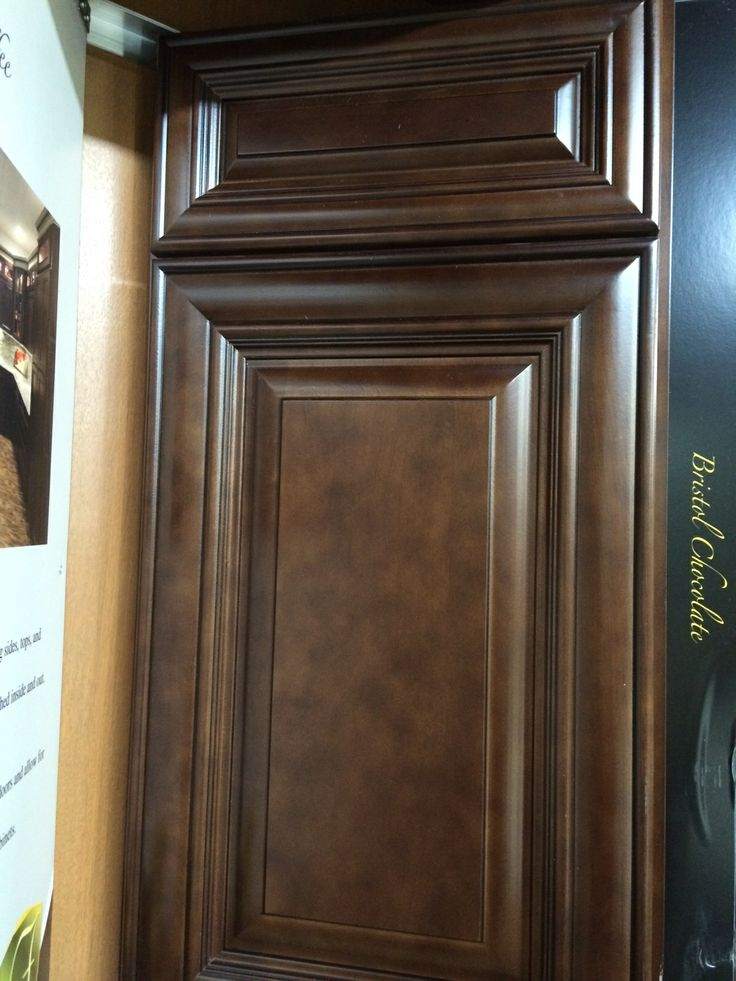 Bristol Chocolate Kitchen Cabinets  Available by special order Allow