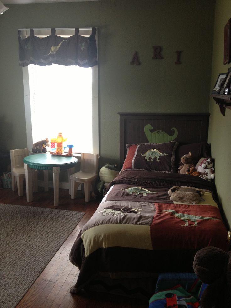 Diy Dinosaur Headboard Boys Room Children 39 S Room Pinterest