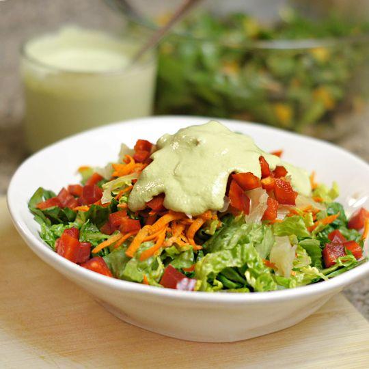Green Goddess Oil-Free Dressing   Vegan Butters, Spreads, Salsas, Dips ...