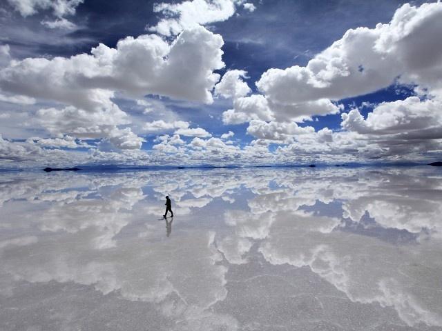 Salar De Yuyni, Bolivia.