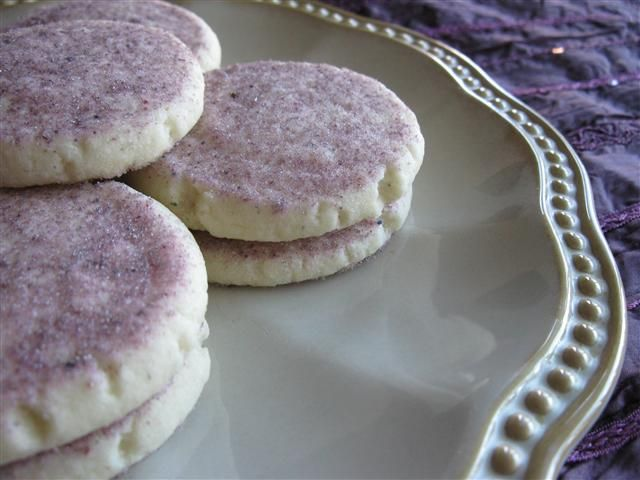 Lavender Shortbread Cookies | Shades of Lavender | Pinterest