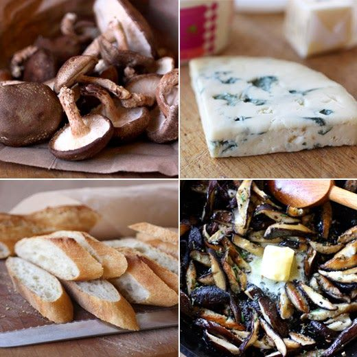 Rosemary Blue Cheese Creme Fraiche | anytime savory food, to try | Pi ...