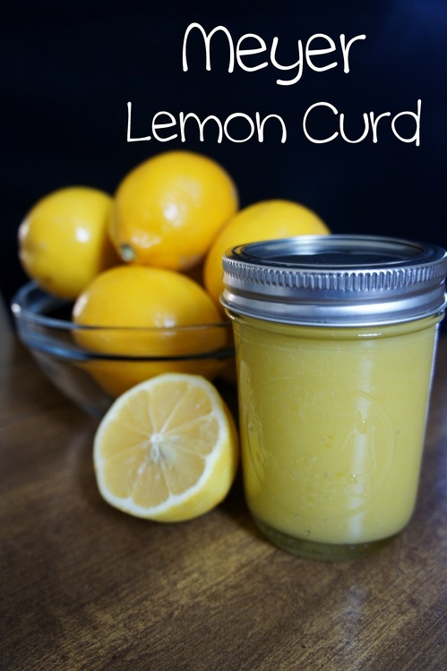 Meyer Lemon Curd | Food ideas | Pinterest