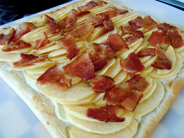 Breakfast Bacon Apple Tart | Food: Breakfast | Pinterest