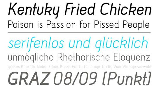 """Efficient Free Fonts to Create Elegant Designs..... even though this one is name """"Kentucky Fried Chicken"""" ;)"""