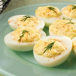Dis Delicious Deluxe Deviled Eggs | lets try this | Pinterest