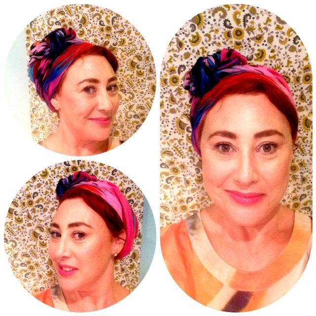 How to tie a sarong as a head scarf How To Tie A Headscarf Women