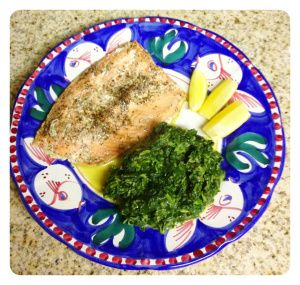 Baked Salmon in parchment paper and Creamed Spinach | fish | Pinterest