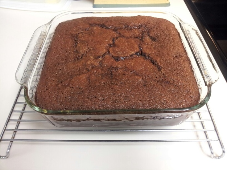 chocolate cake with pudding mix from scratch