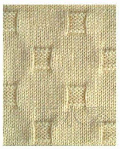 Вязание узоры спицами лицевыми и изнаночными петлями