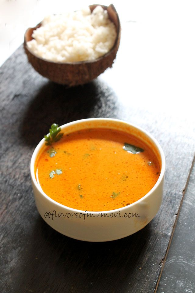Goan Sorak Curry is tangy, mildly spiced and delicious. The aroma ...