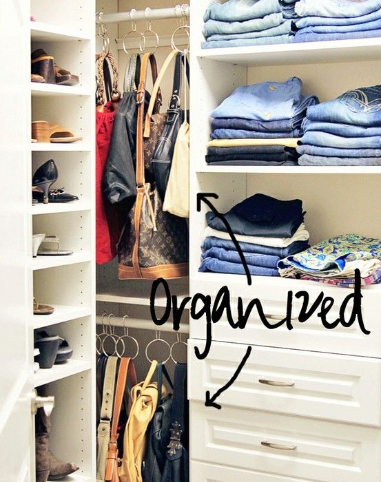 Pin by charlie chapdelaine on home ideas pinterest - How to hang bags in closet ...