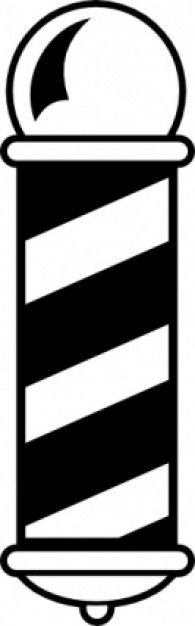 Barber Shop Pole clip art Photoshop: Clipart Pinterest