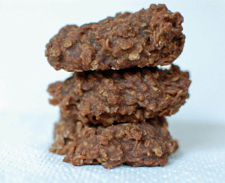 No Bake Chocolate Oatmeal Cookies | Holiday | Pinterest
